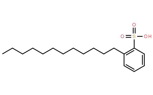 十二烷基苯磺酸钠结构式