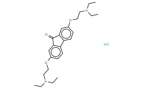 盐酸替洛隆结构式