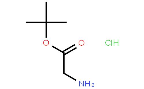 甘氨酸叔丁酯盐酸盐结构式