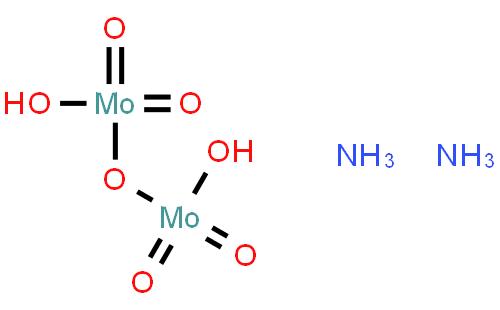 二钼酸铵(cas:27546-07-2) 结构式图片