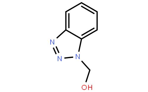 1H-苯并三唑-1-甲醇结构式