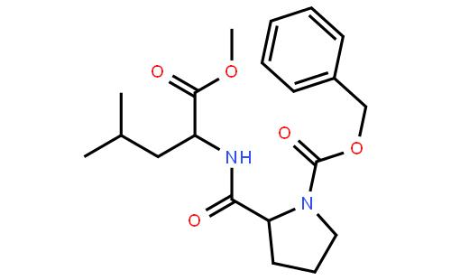 (S)-Benzyl2-(((S)-1-methoxy-4-methyl-1-oxopentan-2-yl)carbamoyl)pyrrolidine-1-carboxylate