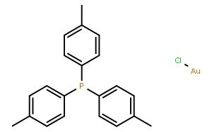 氯[三(对甲苯基)膦]金(I)