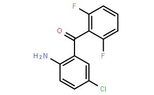 (2-Amino-5-chlorophenyl)(2,6-difluorophenyl)methanone