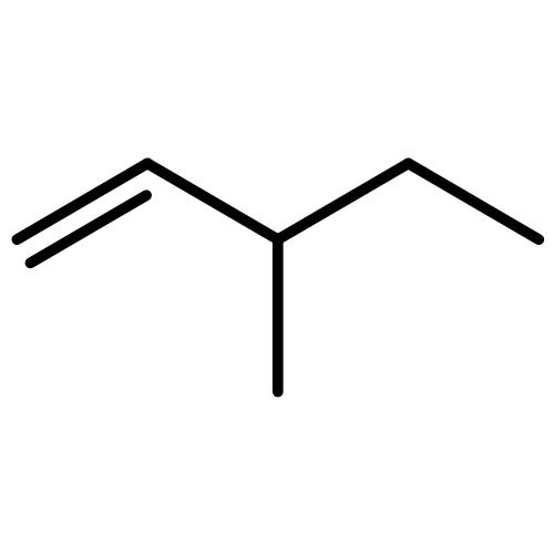 3-甲基-2-戊烯(cas:29564-68-9) 结构式图片