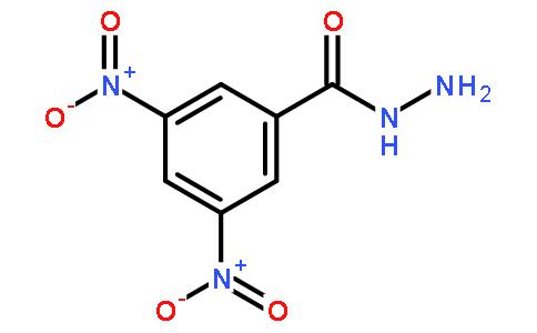 3,5-二硝基苯甲酰肼结构式