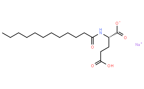 中文名称:月桂酰谷氨酸钠 英文名称:sodium lauroyl glutamate 分子式图片
