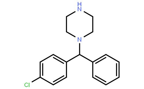 (-)-1-[(4-氯苯基)苯甲基]哌嗪