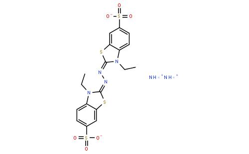 2,2′-联氨双(3-乙基苯并噻唑啉-6-磺酸)二胺盐