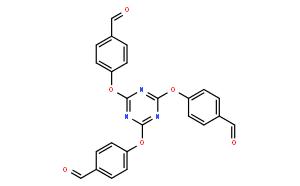 Benzaldehyde, 4,4',4''-[1,3,5-triazine-2,4,6-triyltris(oxy)]tris-