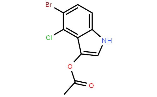 3-乙酰氧基-5-溴-4-氯吲哚