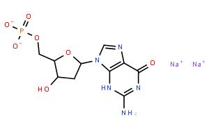 2′-脱氧鸟苷-5′-一磷酸 二钠盐 水合物