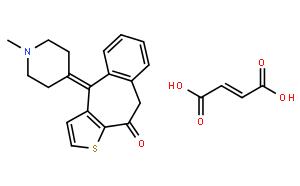 富马酸酮替芬(CAS:34580-14-8)