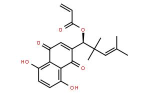 β, β-dimethyl-acry-lalkannin