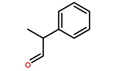 2-苯基丙醛结构式