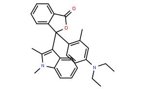 1(3H)-Isobenzofuranone,3-[4-(diethylamino)-2-methylphenyl]-3-(1,2-dimethyl-1H-indol-3-yl)-