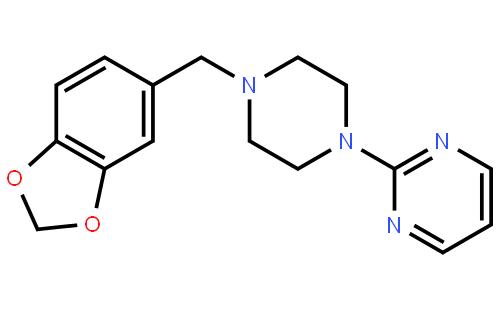 吡贝地尔(cas:3605-01-4) 结构式图片