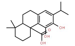 鼠尾草酸(CAS:3650-09-7)结构式图片