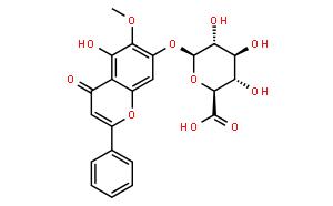 Oroxylin A-7-O-beta-D-glucuronide