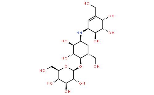 井岗霉素结构式