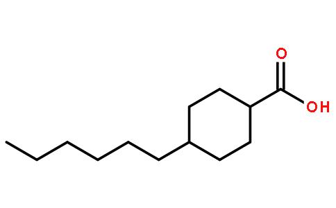 反式-4-己基环己烷甲酸结构式