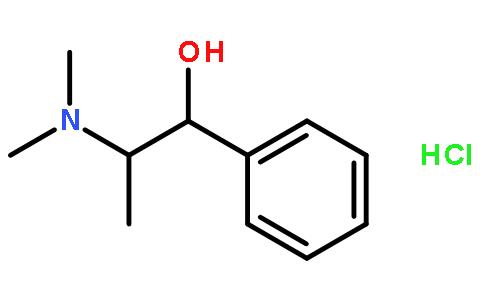 盐酸甲基麻黄碱结构式