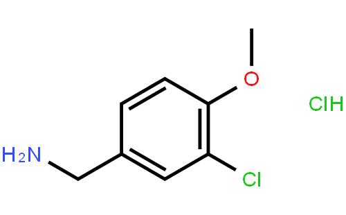 41965-95-1 (3-Chloro-4-methoxyphenyl)methanamine hydrochloride