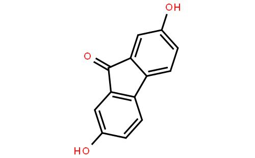 2,7-二羟基-9-芴酮结构式