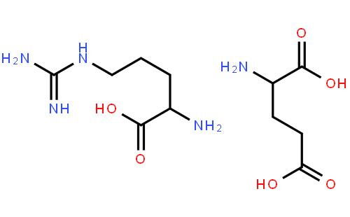 l-精氨酸-l-谷氨酸盐结构式_化学式 – 960化工网图片