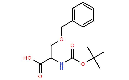 O-苄基-N-(叔丁氧羰基)-D-丝氨酸