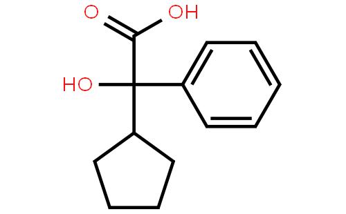 环戊基苯乙醇酸结构式