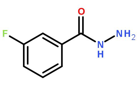 3-氟苯甲酰肼结构式图片
