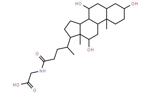 甘氨胆酸结构式