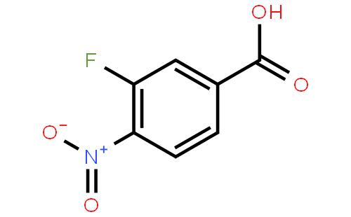 3-氟-4-硝基苯甲酸