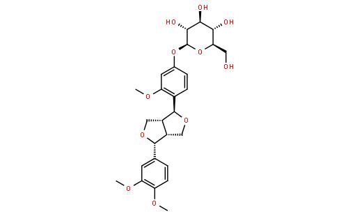 连翘苷结构式