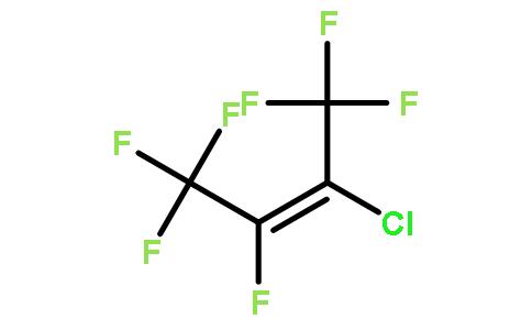 3-氯七氟-2-丁烯结构式