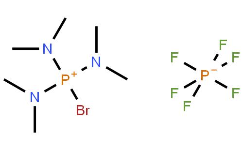 溴代三(二甲基?#34987;?磷六氟磷酸盐