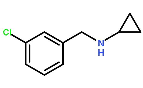 香港先进技术工业有限公司深圳分公司 > n-环丙基-3-氯苄胺   结构式