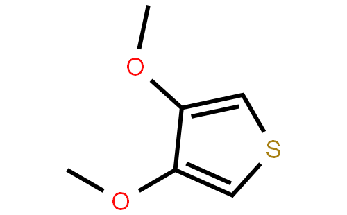3,4-二甲氧基噻吩结构式