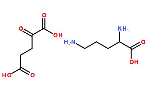 L-鸟氨酸-α-酮戊二酸盐(1:1)二水合物(5191-97-9)