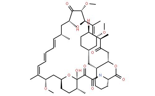 雷帕霉素结构式