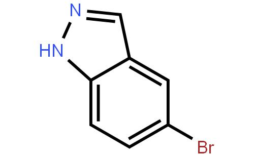 5-溴吲唑结构式