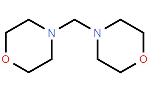 N,N'-亚甲基双吗啉结构式