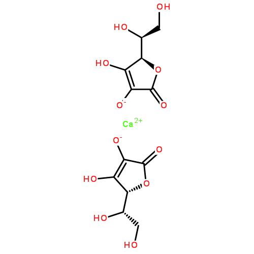 抗坏血酸钙结构式