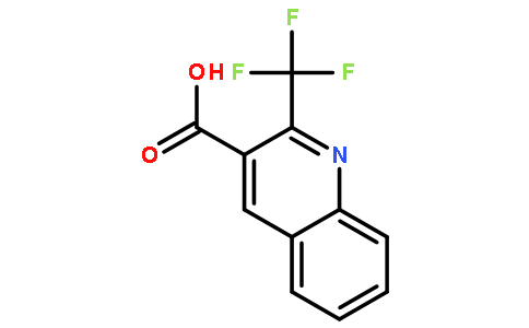 3-Quinolinecarboxylicacid, 2-(trifluoromethyl)-