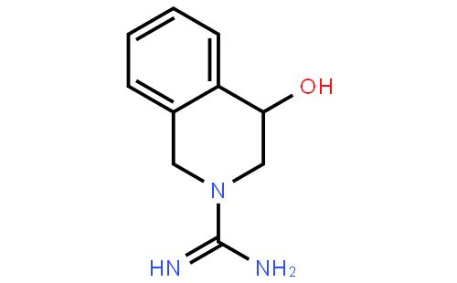 4-羟基异喹胍结构式  查看大图 cas:59333-79-8 分子式:c10h13n3o