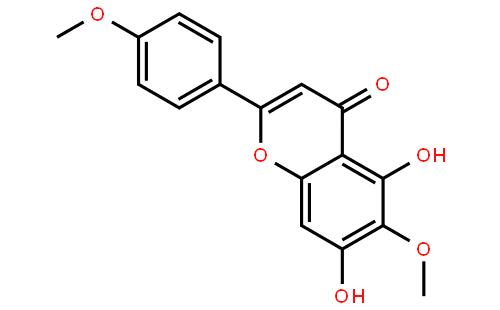 番茄红素(cas:520-12-7) 结构式图片; 柳穿鱼黄素(cas:520-12-7) 结构