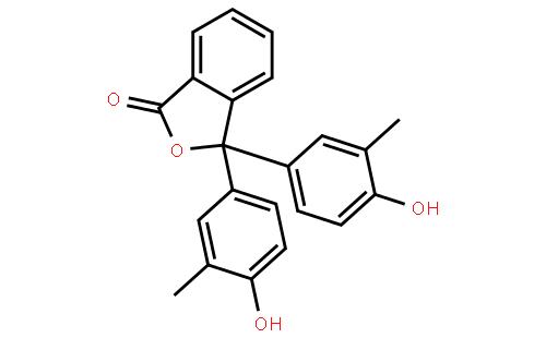 邻甲酚酞指示液
