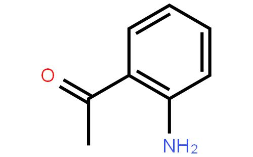 邻氨基苯乙酮结构式