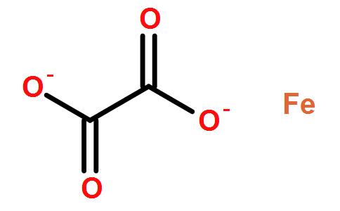 草酸亚铁结构式